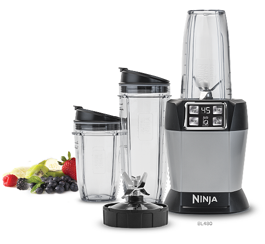 Nutri Ninja Nutrient Extraction Single Serve Blender with Auto IQ ...